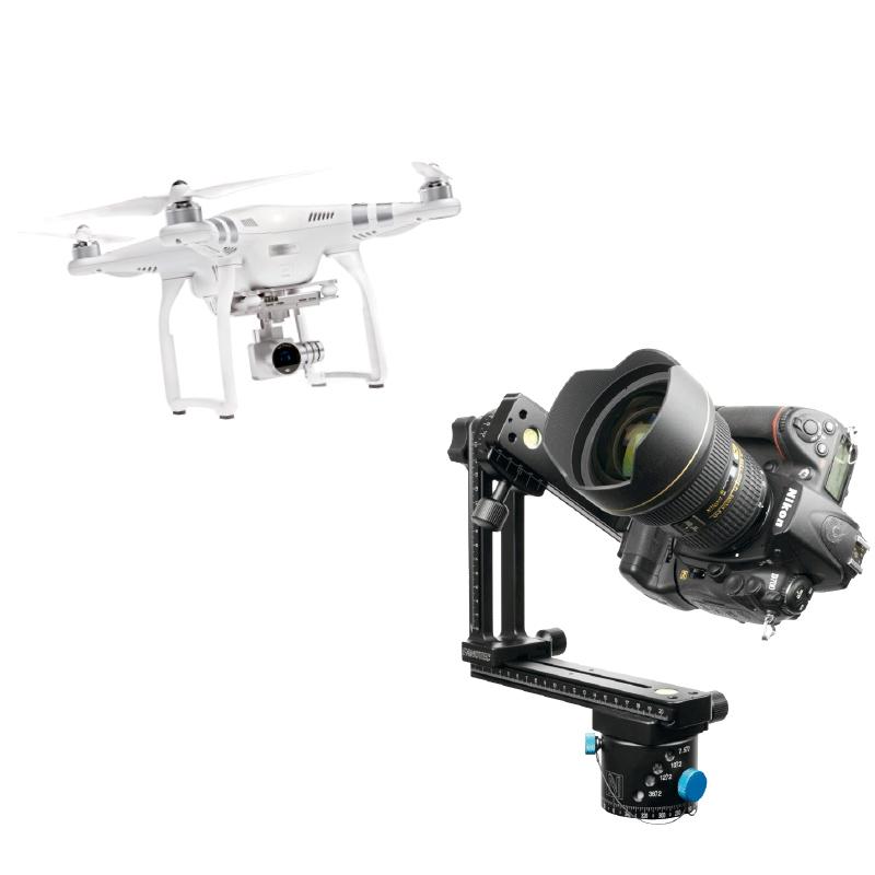 Imágenes 360 desde el aire o desde el interior de tu proyecto