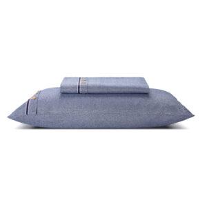 almohada azul
