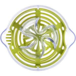 Exprimidor transparente