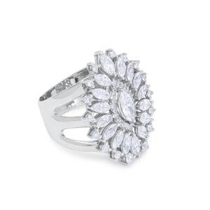 Anillo diamantes grande
